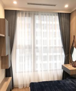 mẫu rèm vải hai lớp phòng ngủ được ưa chuộm