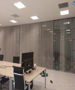 văn phòng lắp rèm lá dọc