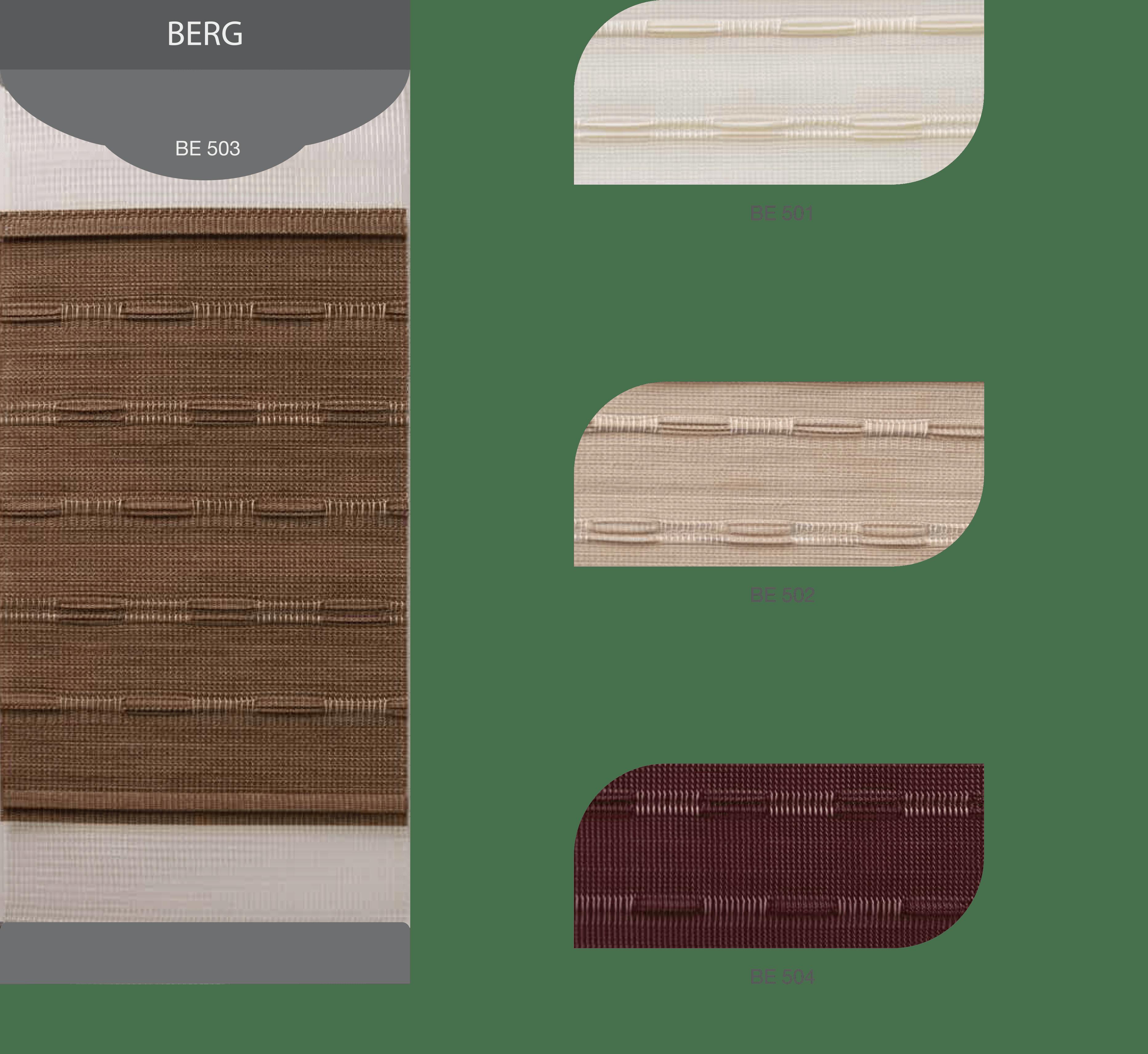 Màu Rèm cầu vồng Modero mã BE