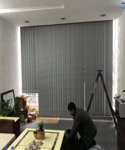 rèm lá dọc văn phòng đẹp