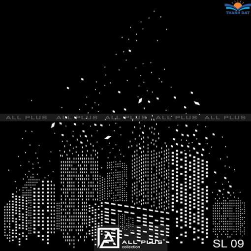 rèm cuốn khắc laze mã sl 09