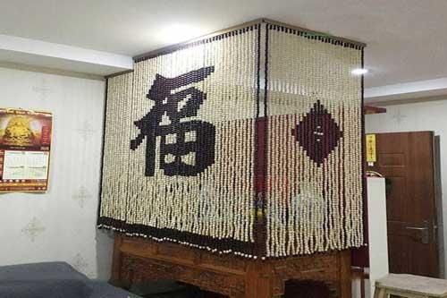 rèm hạt gỗ bồ đề