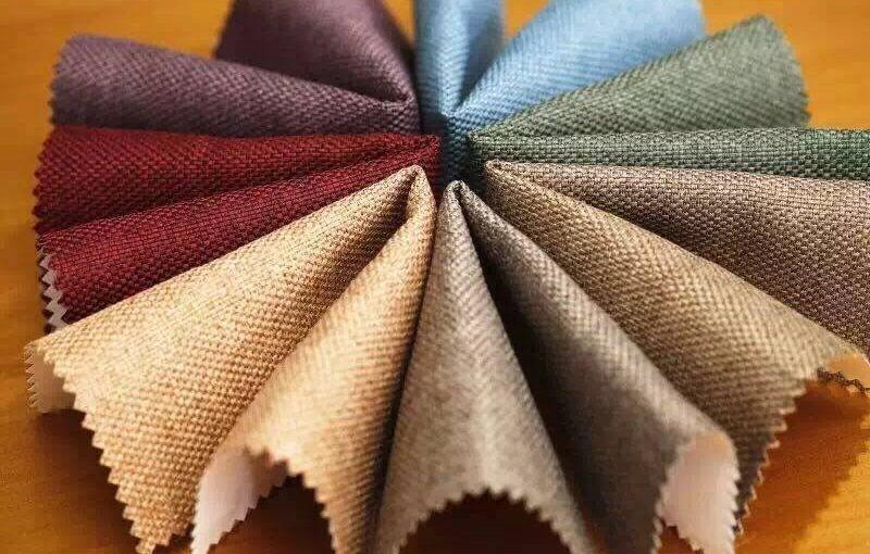 cách chọn loại vải để may rèm xếp ly