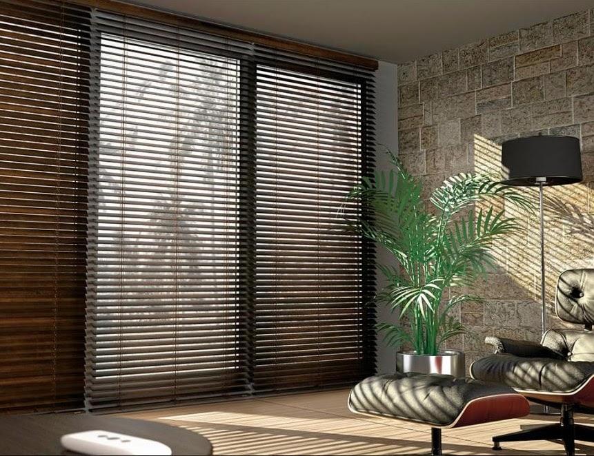 rèm gỗ che nắng sử dụng chất liệu thân thiện môi trường