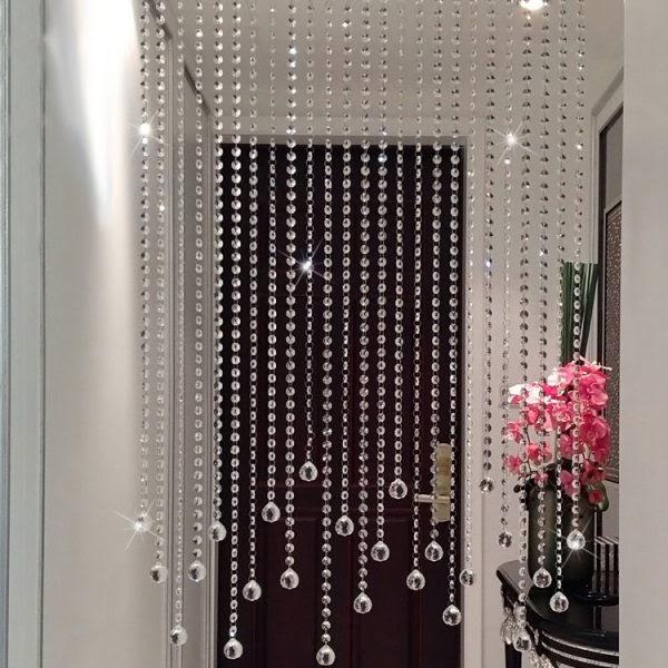 Rèm cửa hạt cườm thích hợp với không gian của các spa
