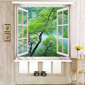 rèm tranh 3d dành cho cửa sổ