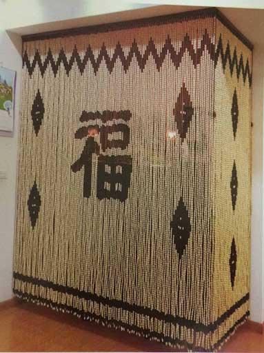 Rèm hạt gỗ bồ đề có mùi hương dễ chịu