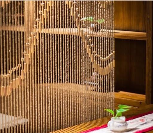 rèm hạt gỗ đẹp