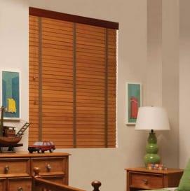 rèm gỗ cửa sổ phòng ngủ