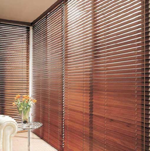 Bộ sưu tập rèm gỗ cho không gian sống hot nhất 2019