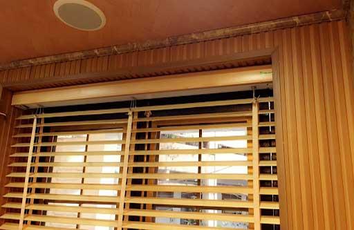 Rèm cửa gỗ tự động vừa đẹp, vừa sang lại tiện lợi trong quá trình sử dụng
