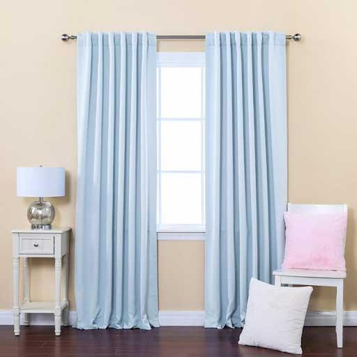 rèm cửa màu xanh ngọc