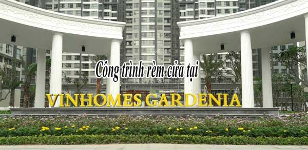 công trình rèm cửa vinhomes gardenia