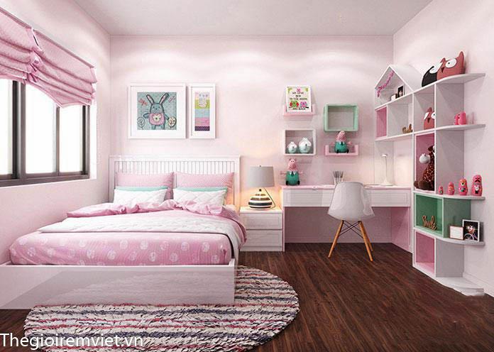 Đảm bảo không gian an toàn trong phòng ngủ của bé gái