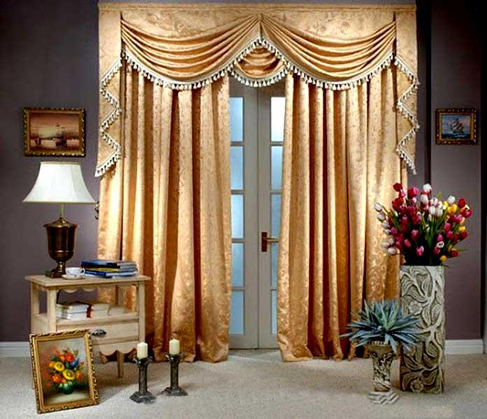 Rèm cửa chính theo phong cách cổ điển