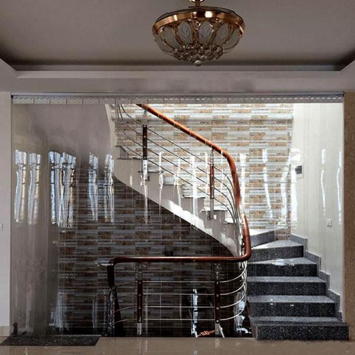 Rèm PVC ngăn lạnh cho không gian gia đình
