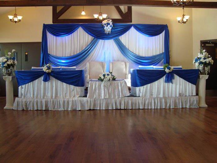 rèm trang trí tiệc cưới