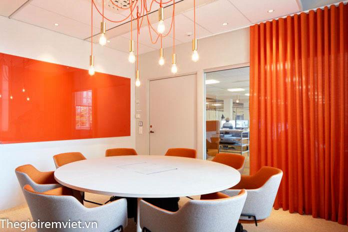 rèm vải văn phòng phù hợp với không gian nào