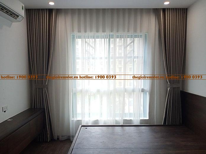 Rèm vải hai lớp điều chỉnh ánh sáng linh động
