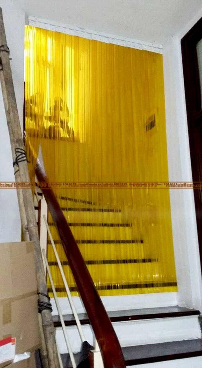 Rèm cầu thang PVC