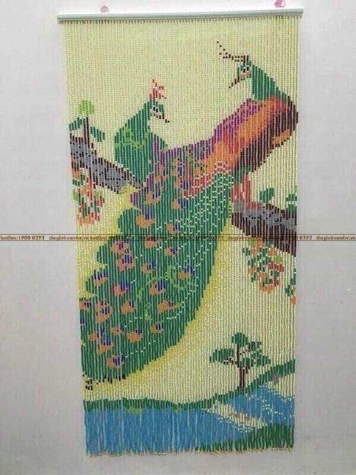 Rèm hạt nhựa tranh tgrv-nt019