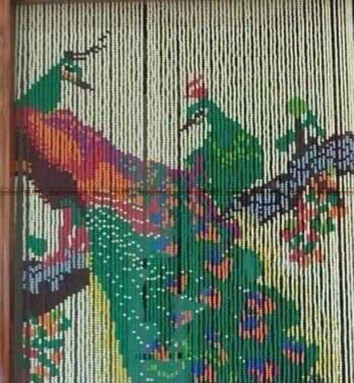 Rèm hạt nhựa tranh tgrv-nt024