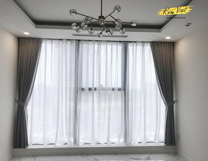 Khả năng điều chỉnh ánh sáng linh hoạt của rèm vải hai lớp