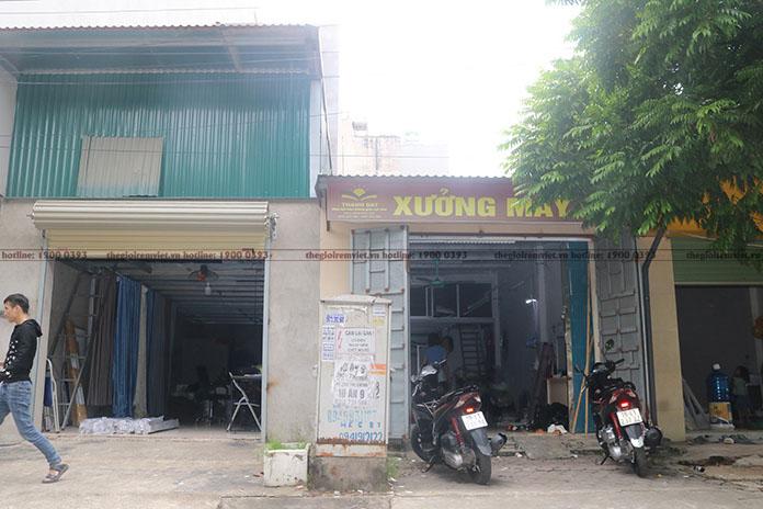 Kho, xưởng gia công rèm vải của Thế giới rèm Việt