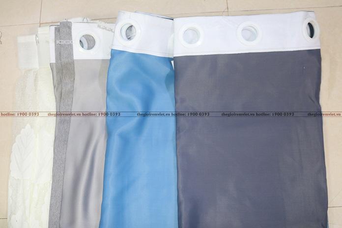 Rèm vải Ore tại xưởng