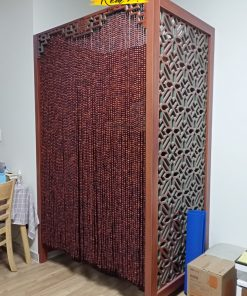 Rèm hạt gỗ 012