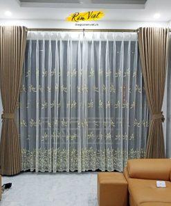 Rèm vải hai lớp mã T19 10-03