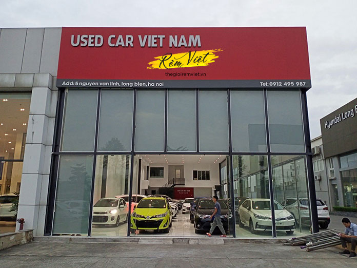 Used car Việt Nam có địa chỉ tại số 5 Nguyễn Văn Linh, Long Biên, Hà Nội