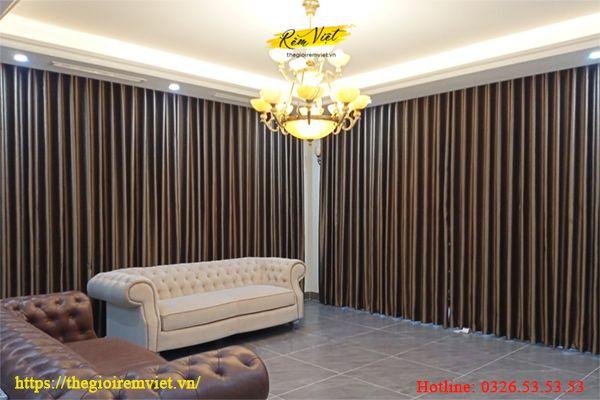 Đồng nhất thiết kế giữa bên xây dựng và bên thi công lắp đặt rèm cửa âm trần.