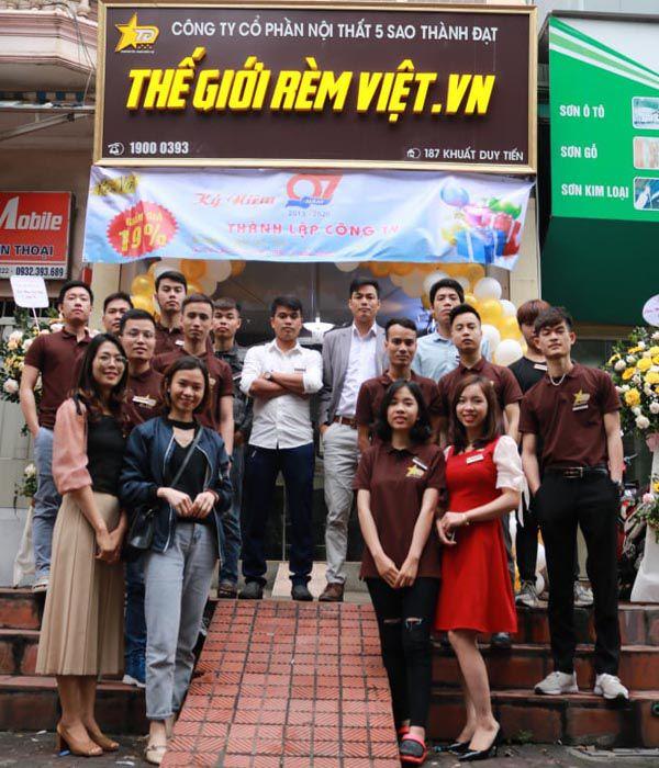 Đội ngũ nhân viên công ty giàu kinh nghiệm và tận tâm - Thegioiremviet