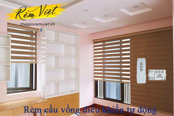 Rèm cầu vồng điều khiển tự động - Thế giới rèm Việt