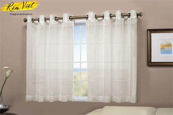 Rèm cửa sổ nhỏ phòng ngủ