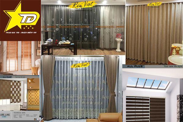 Tổng hợp các mẫu rèm đẹp nhất năm 2021 cho phòng khách