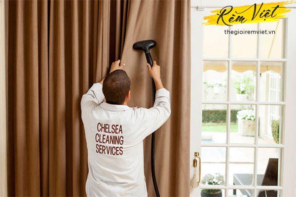 Giặt, làm sạch rèm cửa công đoạn quan trọng cẩn thận