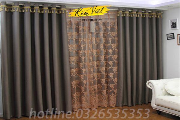 Lưu ý khi giặt rèm vải chất liệu sợi tổng hợp Polyester