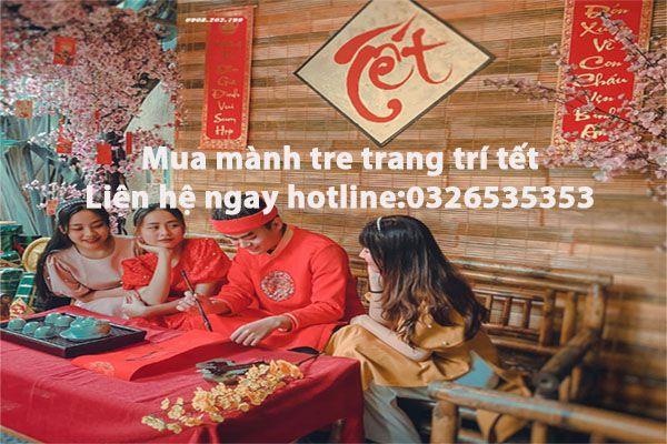 Mành tre trang trí tết mua ở đâu Hà Nội, Tp. Hồ Chí Minh uy tín, giá rẻ