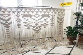 Mẫu rèm treo tường Macrame MS21