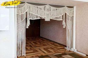 Mẫu rèm treo tường Macrame MS6