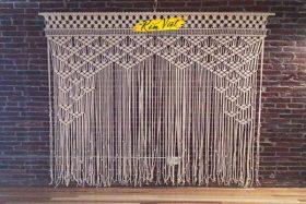 Mẫu rèm treo tường Macrame MS9