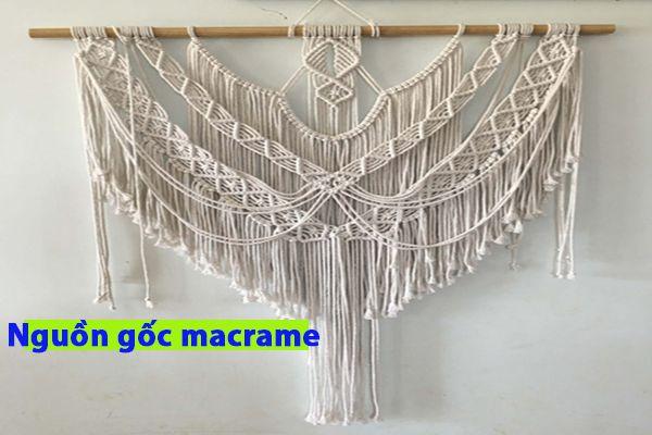 Nguồn gốc của rèm macrame