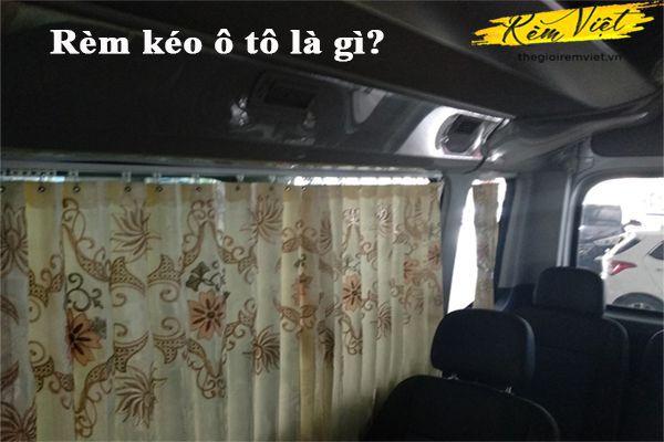 Rèm kéo ô tô là gì?