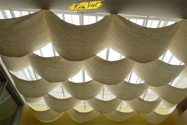 Rèm trần sử dụng cho không gian nào