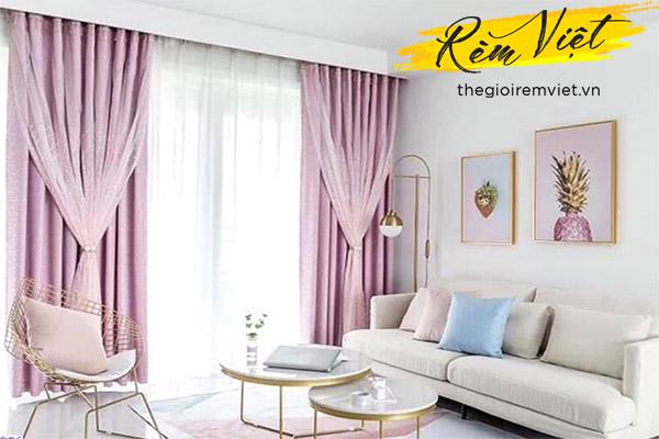 Ý nghĩa của rèm cửa phòng khách hiện đại trong trang trí nội thất