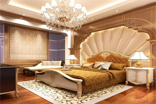 Bố trí nội thất phòng ngủ theo phong cách Châu Âu