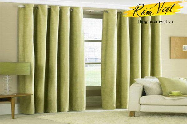 Lựa chọn màu sắc của rèm giúp hút vượng khí cho ngôi nhà