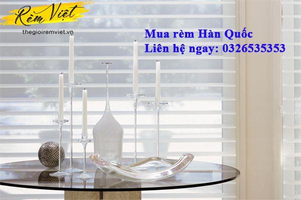 Nên mua rèm hàn quốc chính hãng ở đâu Hà Nội và TP. Hồ Chí Minh